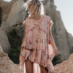 Spell Wild Bloom Mini Dress